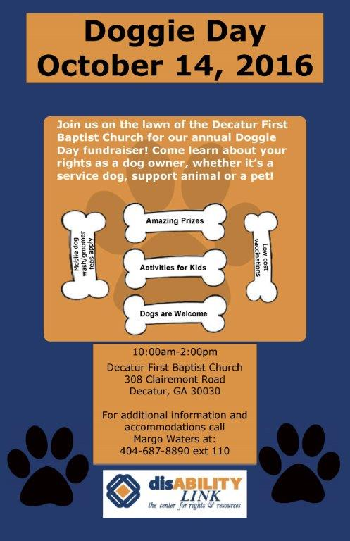 Doggie Day 2016 Poster E-mail